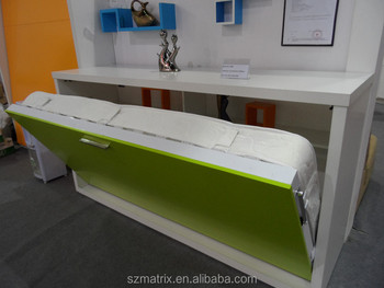 High Quality Italian Design Hidden Bed Furniture,Wooden Hidden Bed,Storage  Cabinet Hidden Bed
