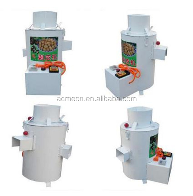 Commercial type cheap Chinese chestnut sheller/mini chestnut peeling machine