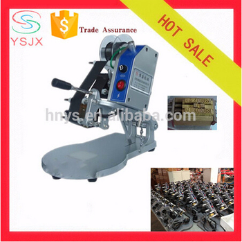 manual printing machine to print expiry date/production date/batch number