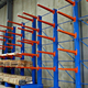Cantilever beam shelf rack hanging display unit vertical carousel