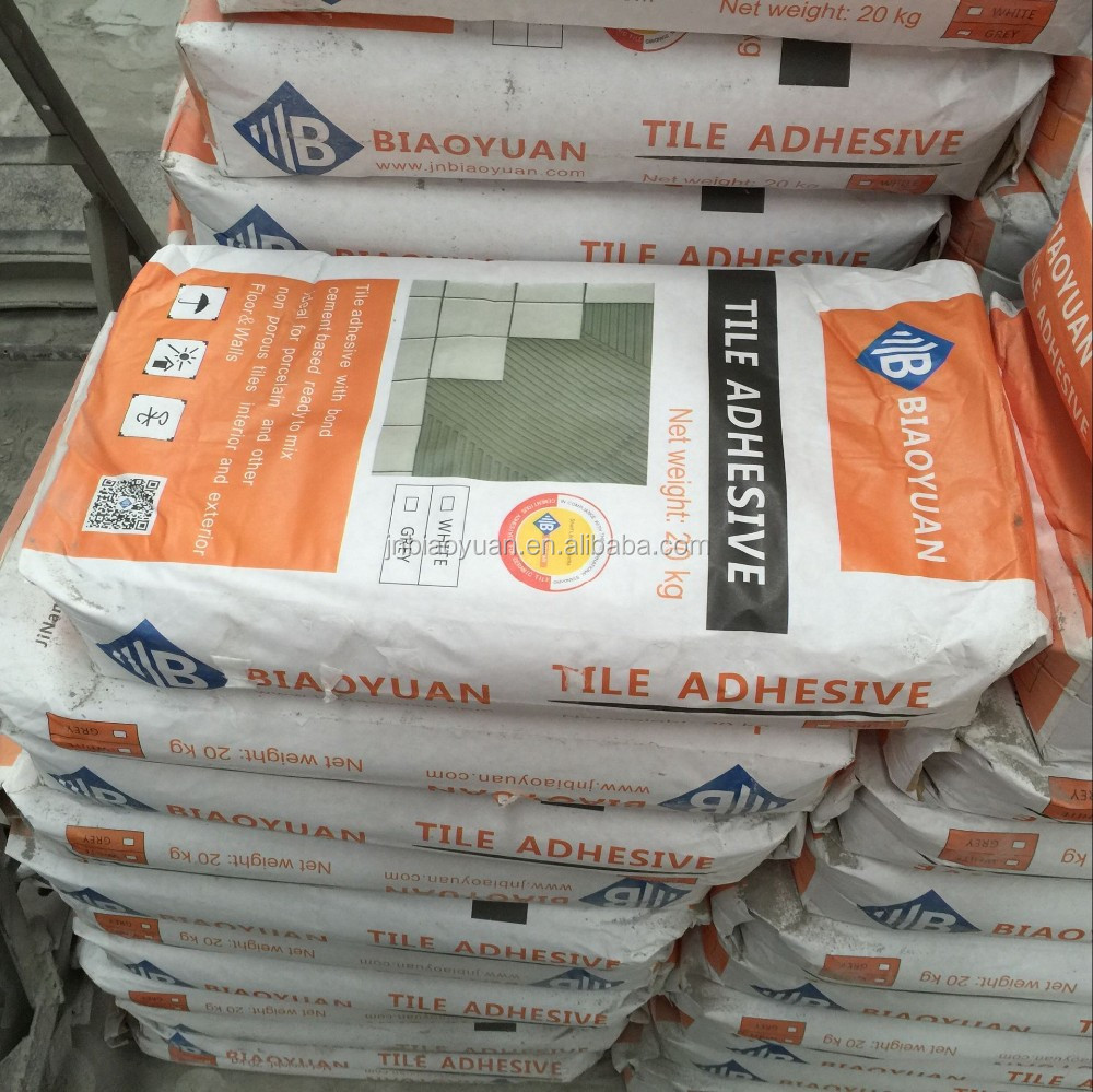 polymer modified cement tile adhesive
