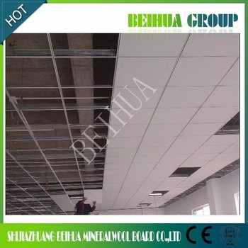 Lightweight Mineral Fiber Garage Ceiling Panels