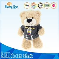 Lovely Plush Teddy Bear with Clothes Wholesale Customized Plush Bear Manufacturer Toy