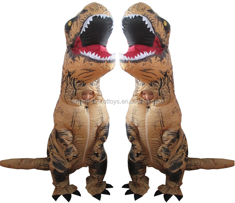 Giant dinosaur halloween costume-2717