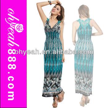 Exotic Design New Fashion Ladies Summer Wear Slimming Maxi Long ...