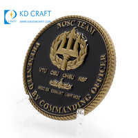 Free sample high quality custom metal double sided 3d logo religious catholic angel coins with boxes