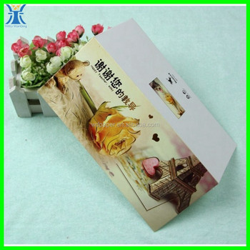 Yiwu 2015 New Arrived elegant decorative hot stamping unique special teachers day greeting card