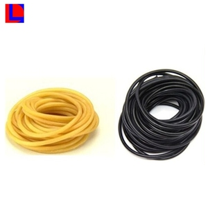 Custom size high tensile strength durable latex rubber tube
