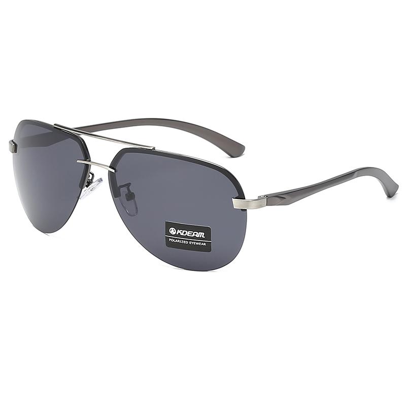 KDEAM High End Italy Design Aviation Sunglasses 2019 Polarized Wholesale Fashion Sun glasses Cool Pilot gafas de sol UV400