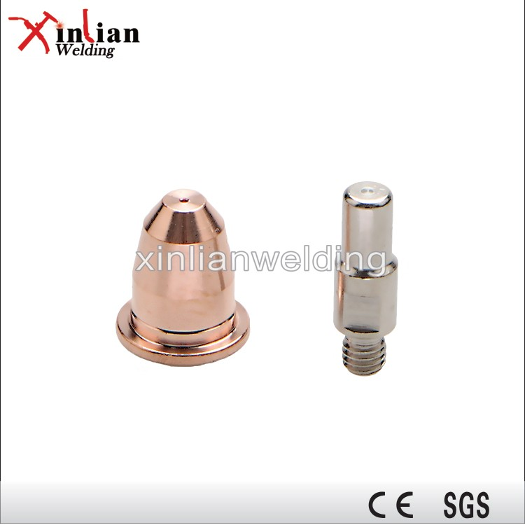 Xinlian Air Plasma Cutting Trafimet S45 Electrode and Cutting Nozzle
