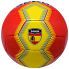 Country Logo Printed Balls Spain Flag Soccer Ball Promotional Football for Club