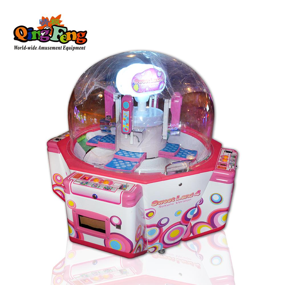 Qingfeng  Luxury gift vending game machine Sugar digging machine push candy game machine sale