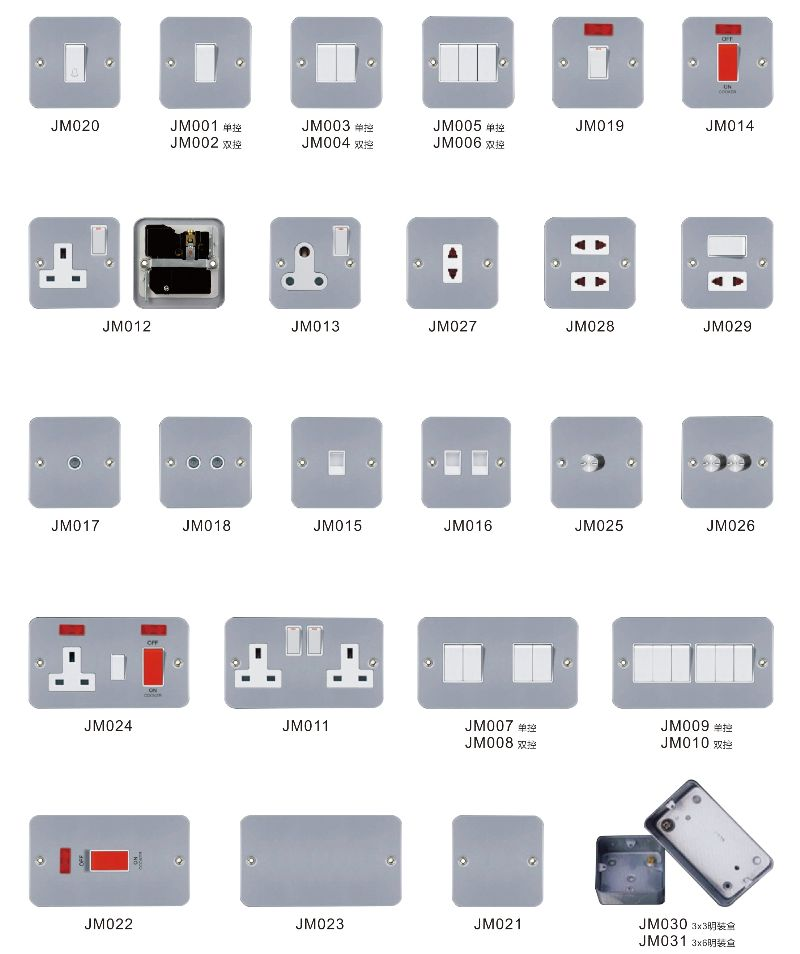 British Type Wall Light Switch Mk Socket And Switches - Buy Mk ...