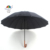 QIFENG 16k 27inch  Custom Logo color With Woody Plastic Handle  black giant golf  advertising Umbrella  factory outlet 16B-1609
