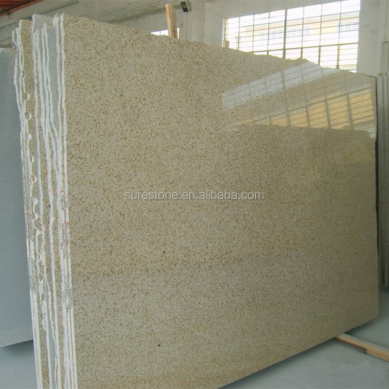 Cheap Price 1-3CM G682 Rusty Yellow Granite Big Slab Tiles for Paving