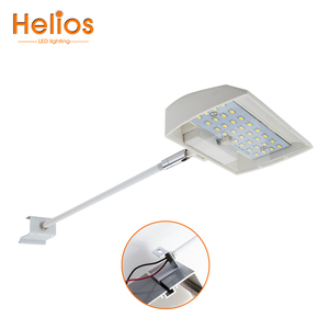15W 20W SMD led display lighting fixtures with C-clamp trade show display arm led light
