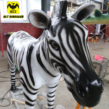Hlt Levensgrote Siliconen Animatronics <span class=keywords><strong>Dier</strong></span> Product Zebra