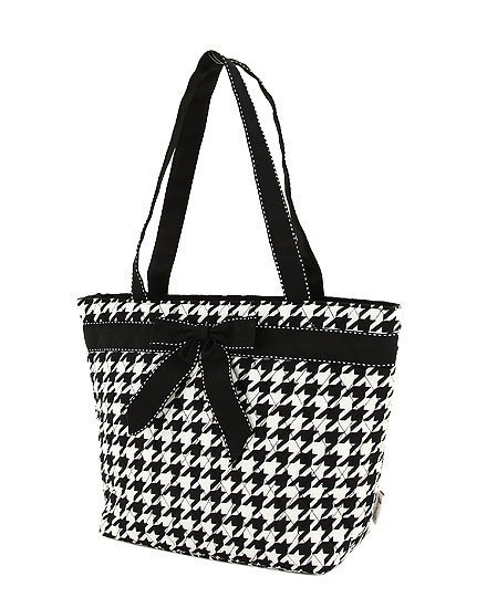 Cotton Quilted Monogrammable Tote Bag