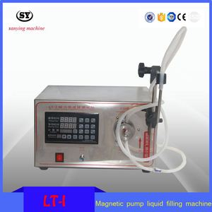 Semi-auto Small Volume Magnetic Pump Liquid Filling Machine