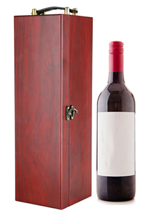 Good job performance wine bottle box packaging bamboo wood