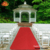 Red Long commercial Carpet Aisle Carpet Runner for Church, Garage, Wedding, Event, Outdoor, Deck, Patio