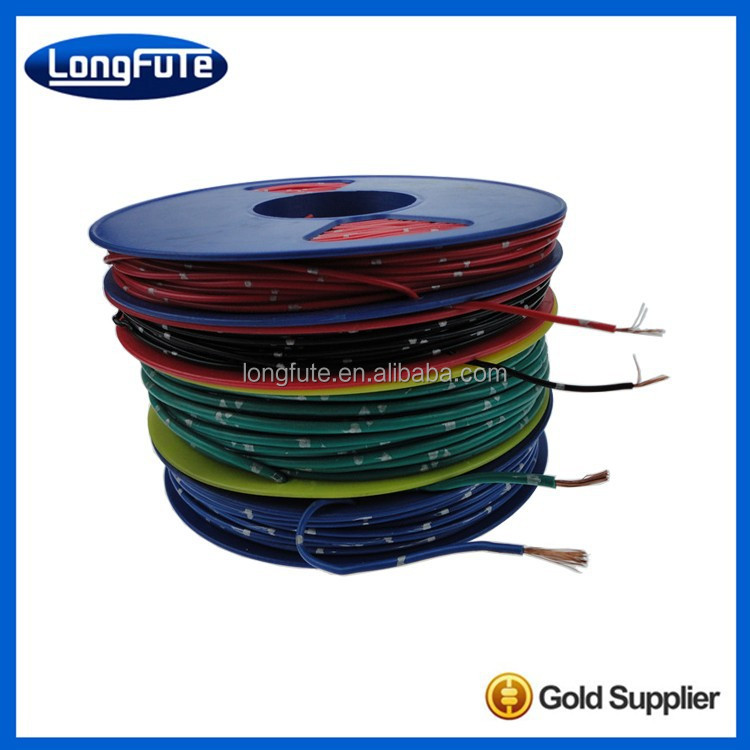 Flexible lead wire for windings of JG 500V,1000V,3000V Silicone rubber insulation electrical machinery
