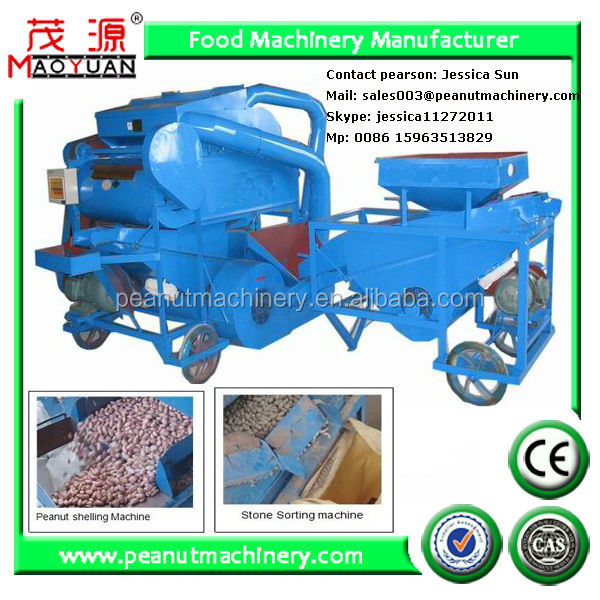 Peanut dehulling equipment