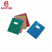 MIFIA Free sample New fashion plastic A4 A5 pvc book cover sheet for school