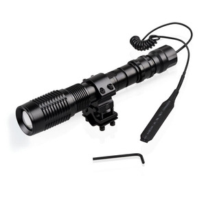 Aluminum Alloy Material XML-T6 High 1000 Lumens Power Gun Mount Hunting Flashlight LED Torch