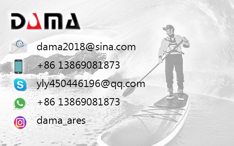 Preço de venda por atacado inflável do barco da qualidade do PVC de DAMA com remos