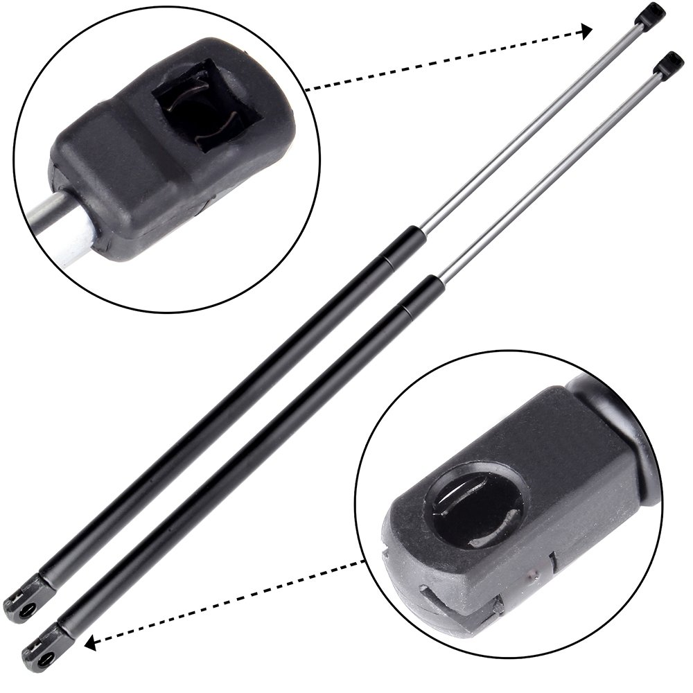 2 Arana Rear Trunk Liftgate Gas Lift Supports For 2007-2011 Dodge Nitro