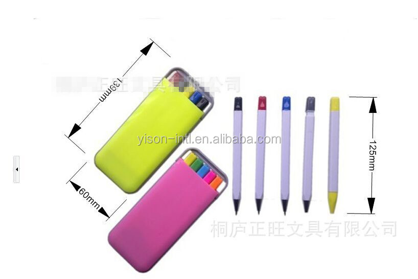 stylo 5 couleurs