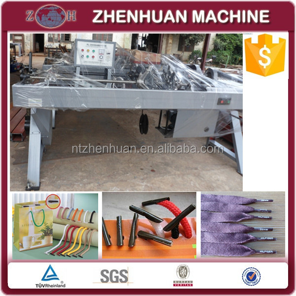 Automatic shoe lace tipping machine for shoe lace and hand bag lace