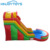 Outdoor 0.55mm PVC Tarpaulin cartoon inflatable water slide with airblower for kids