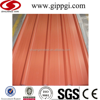 Color Steel Roofing Price List