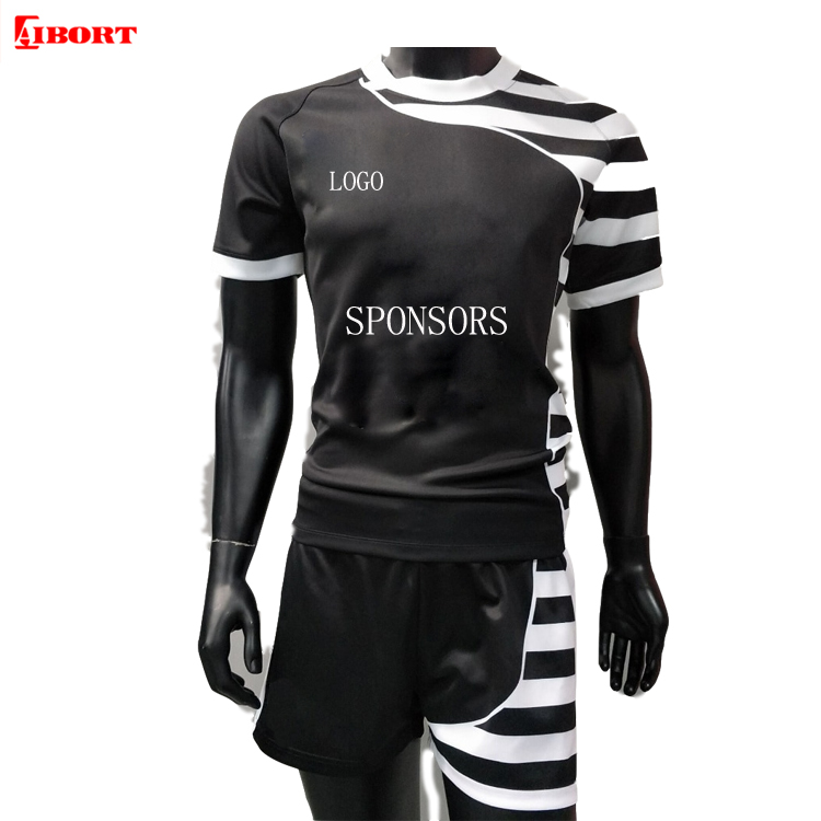 OEM durable fully sublimated rugby uniforms rugby jersey rugby shirts фото
