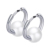 Fashion Stud Earrings 316L Stainless Steel Ceramic Earring Women Jewelry