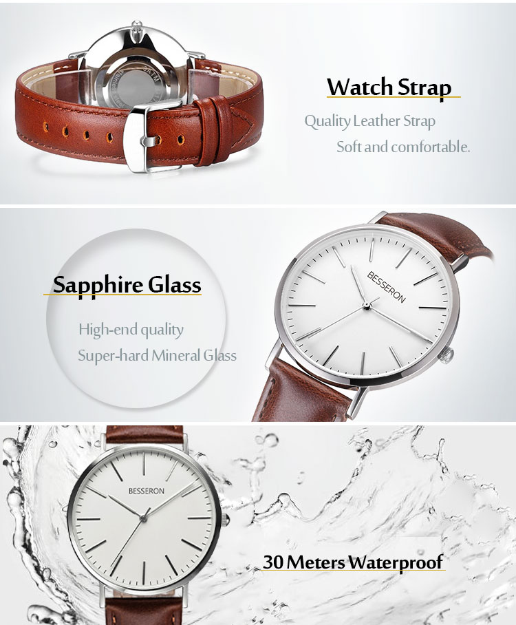 Mens watches brand your own stainless steel designer watch oem cheap custom watches