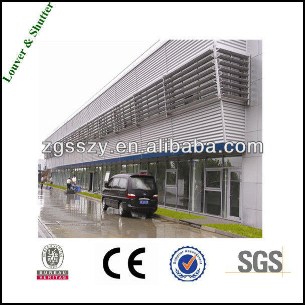Lower Temperature/Sunshade Aluminum Shutter