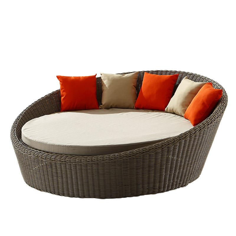 Sofa redondo vime for Sofa exterior redondo