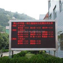 Hot sale products electronic programmable digital led moving message display sign