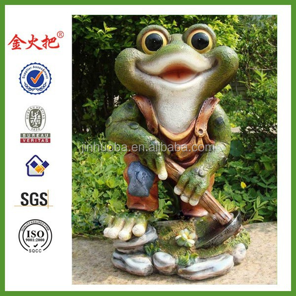 Hot Sell New Products Big Eyes Outdoor Garden Frogs Garden Statue Molds