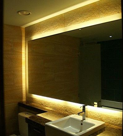 Moderno ba o light espejo espejos de pared decorativos for Oferta espejos pared