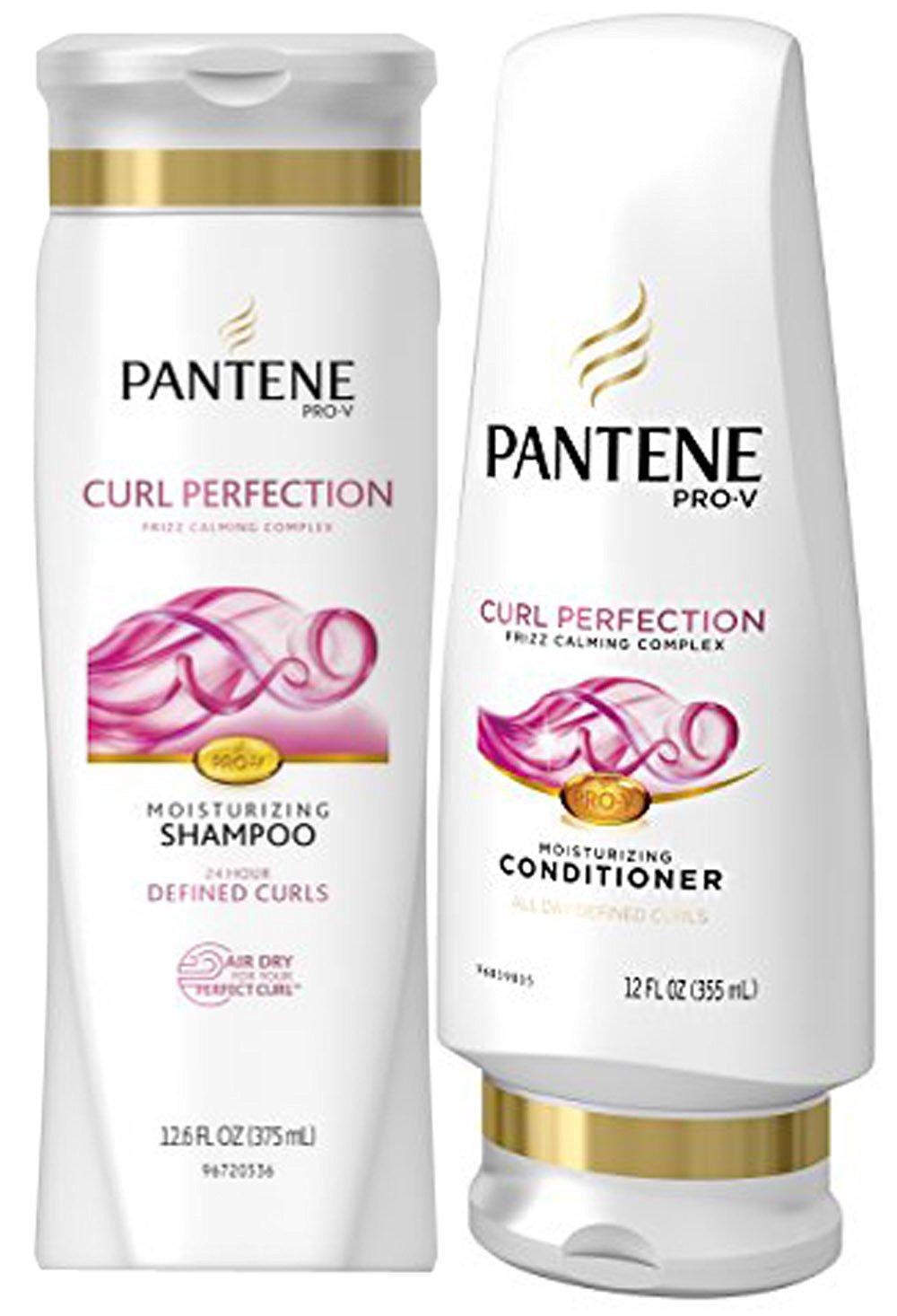 Pantene Pro-V Curl Perfection, Shampoo & Conditioner Set, 12.6 Fl Oz Each