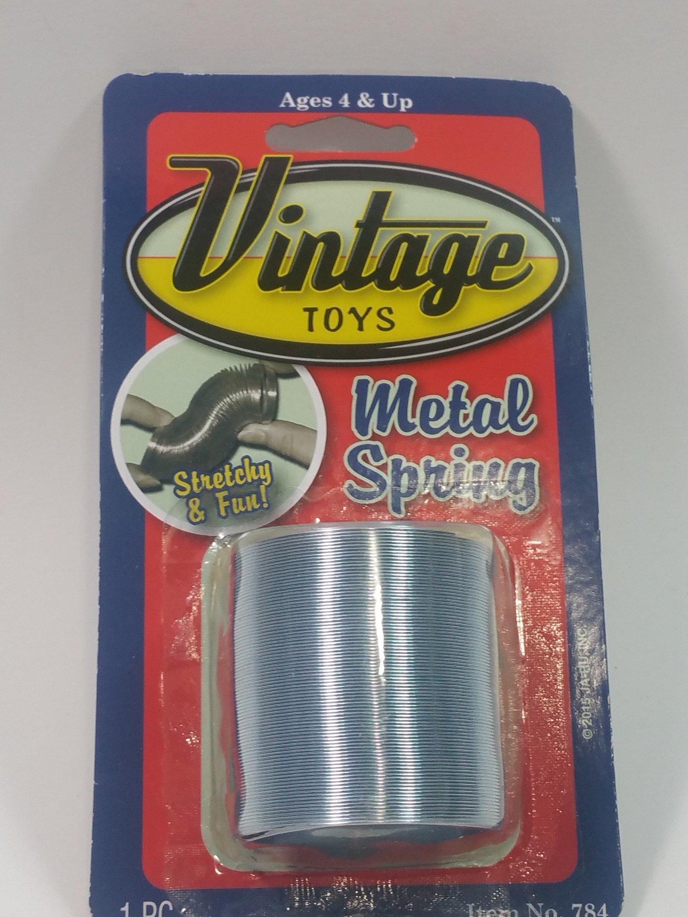 Slink-E Vintage Toys Retro Metal Stretchy Spring Unisex Toy