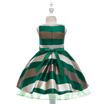 871ddbc13 Summer Baby Girl Dress For Wedding Party Green Cute Girls Dresses ...