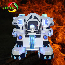 Professional Kiddie Ride Amusement Walking Robot With Music And Fighting Mode