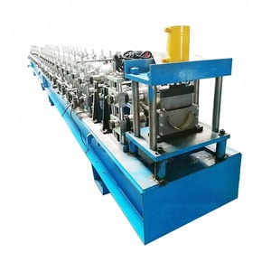 Hot sales global China manufacturer making best quality widely used metal rain water gutter roll forming machines for roofing