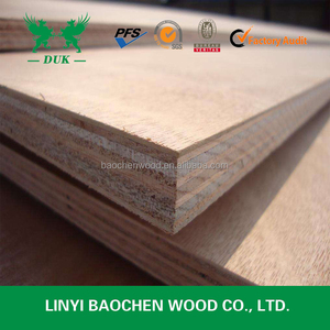 18mm Film Faced Thick Full Pine Core Okoume Plywood with melamine glue