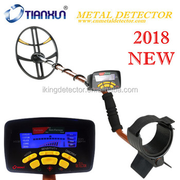 2018 New Arrival Discover Sport Metal Detector with Big Coil, MD-6350 Plus deep search Gold Metal Detector